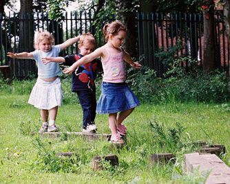Children Outside self directed play